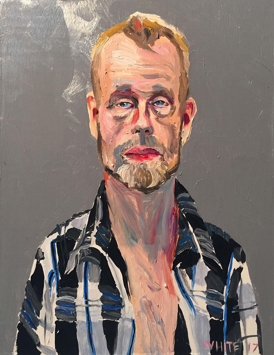 Reed White painting mugshot 002 : Cruel and Unusual Punishment