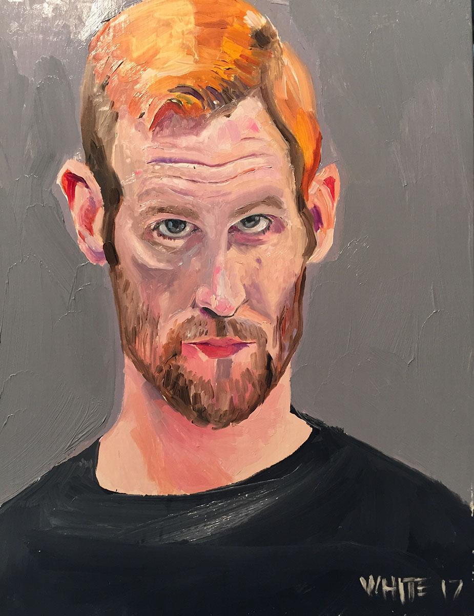 Reed White painting mugshot 009 : Cruel and Unusual Punishment