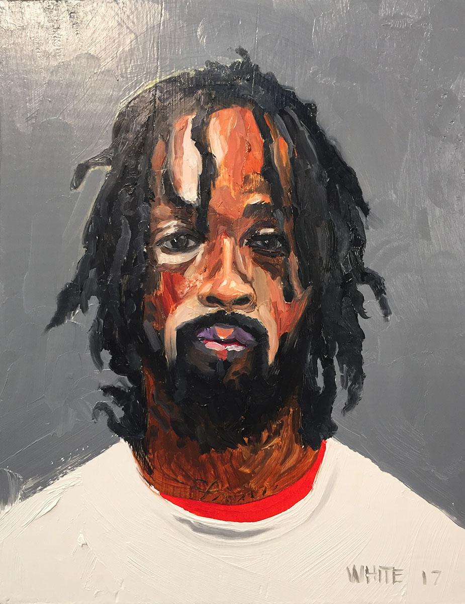 Reed White painting mugshot 013 : Cruel and Unusual Punishment
