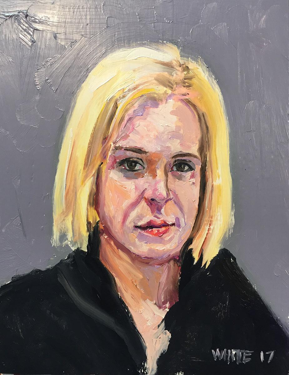 Reed White painting mugshot 015 : Cruel and Unusual Punishment
