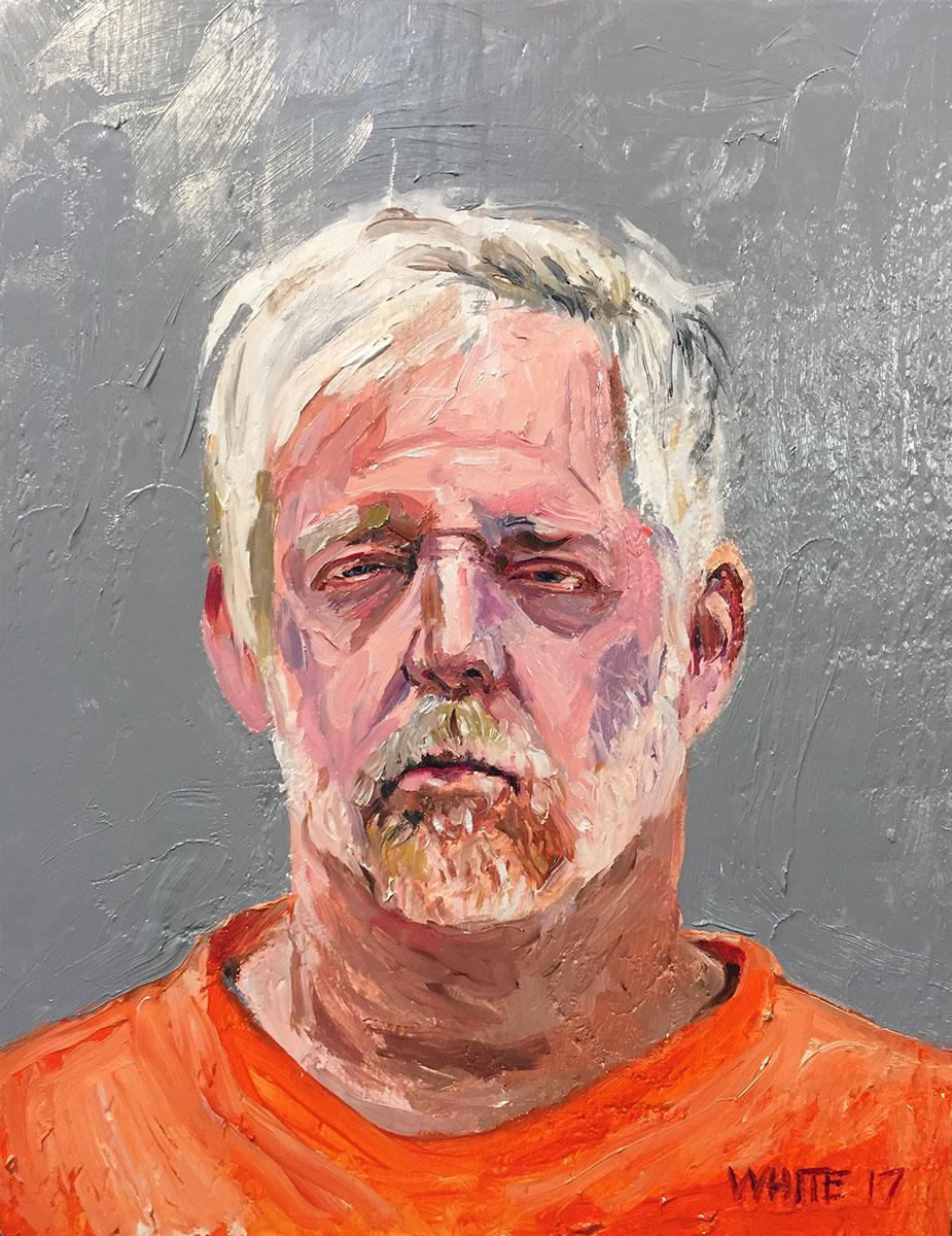 Reed White painting mugshot 020 : Cruel and Unusual Punishment