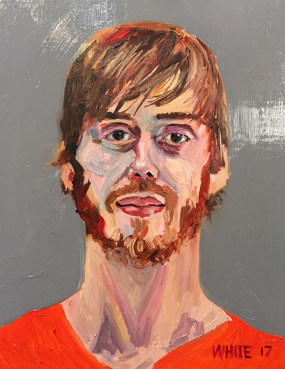 Reed White painting mugshot 022 : Cruel and Unusual Punishment