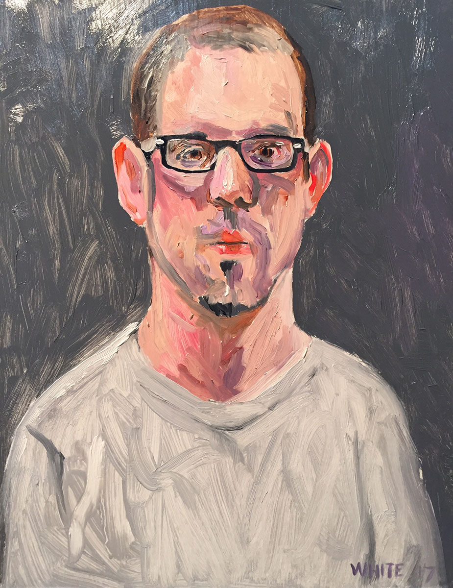 Reed White painting mugshot 001 : Cruel and Unusual Punishment