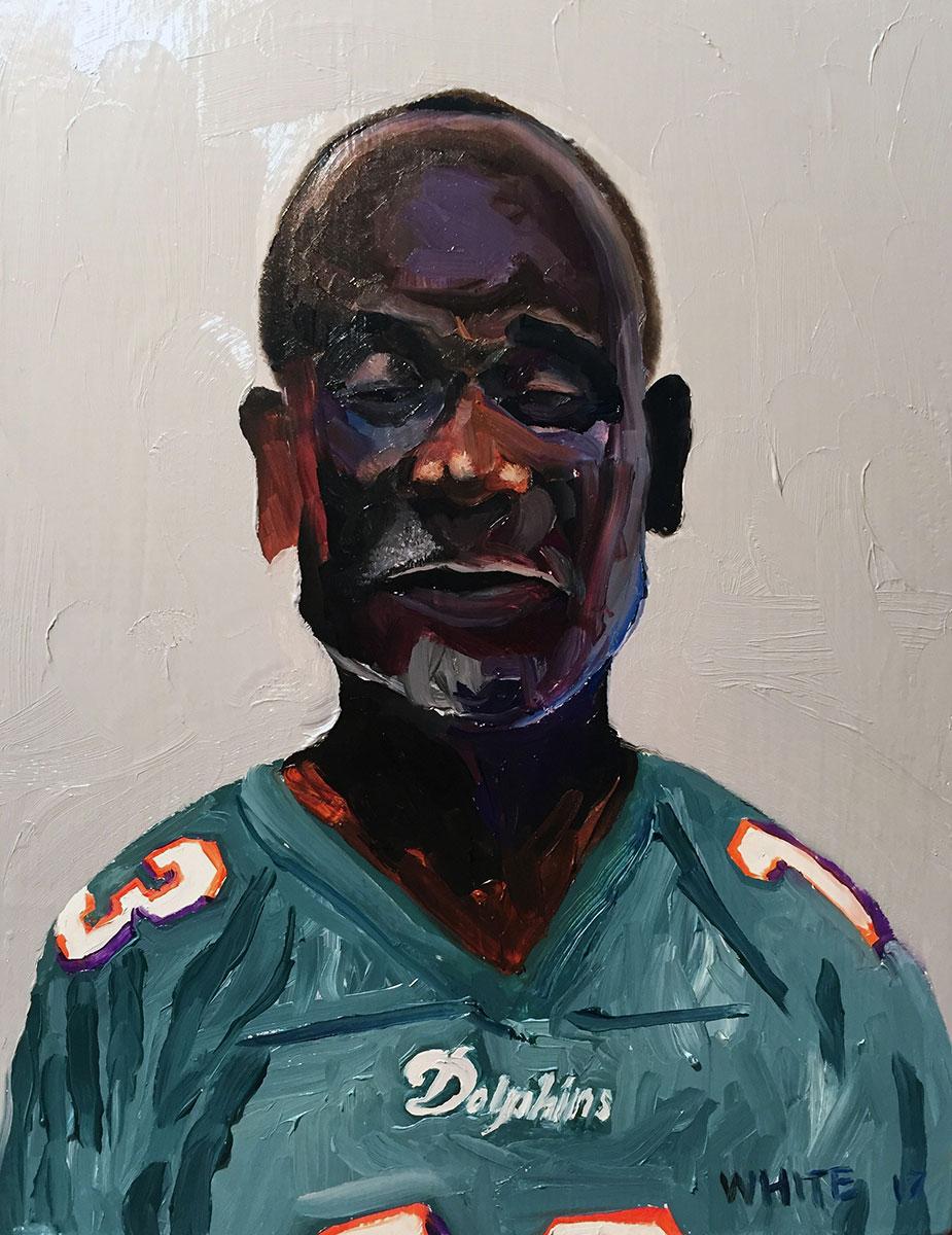 Reed White painting mugshot 005 : Cruel and Unusual Punishment