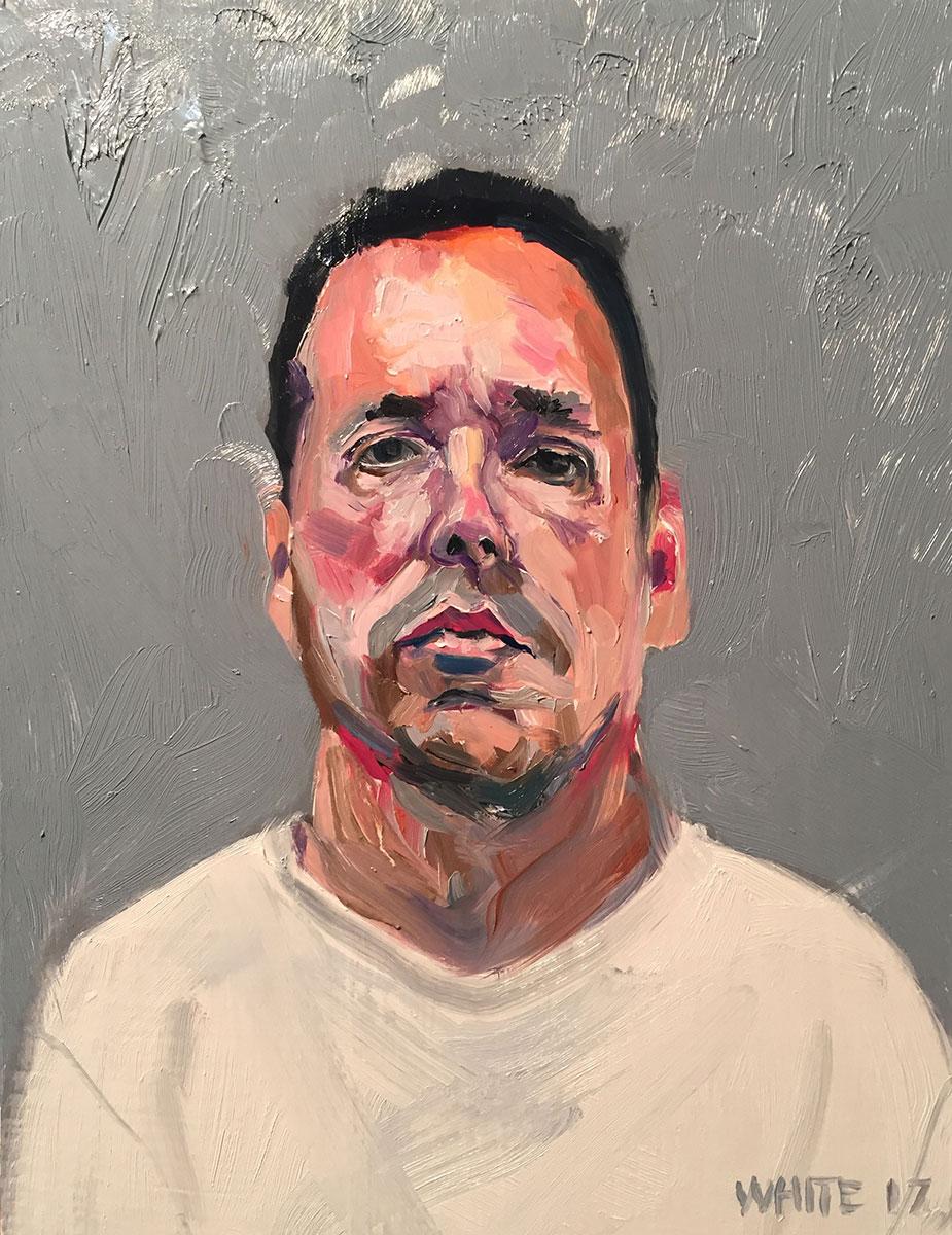 Reed White painting mugshot 006 : Cruel and Unusual Punishment
