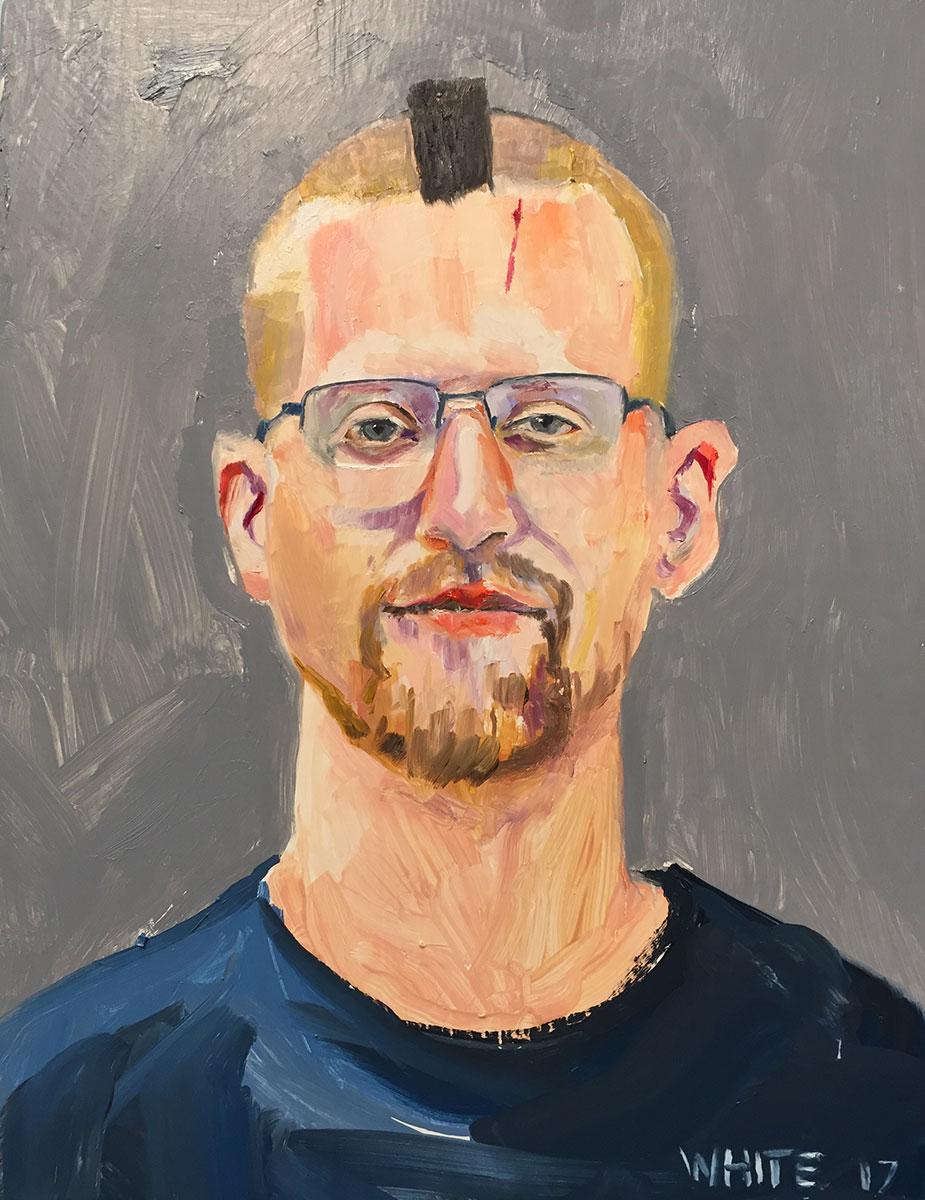 Reed White painting mugshot 010 : Cruel and Unusual Punishment