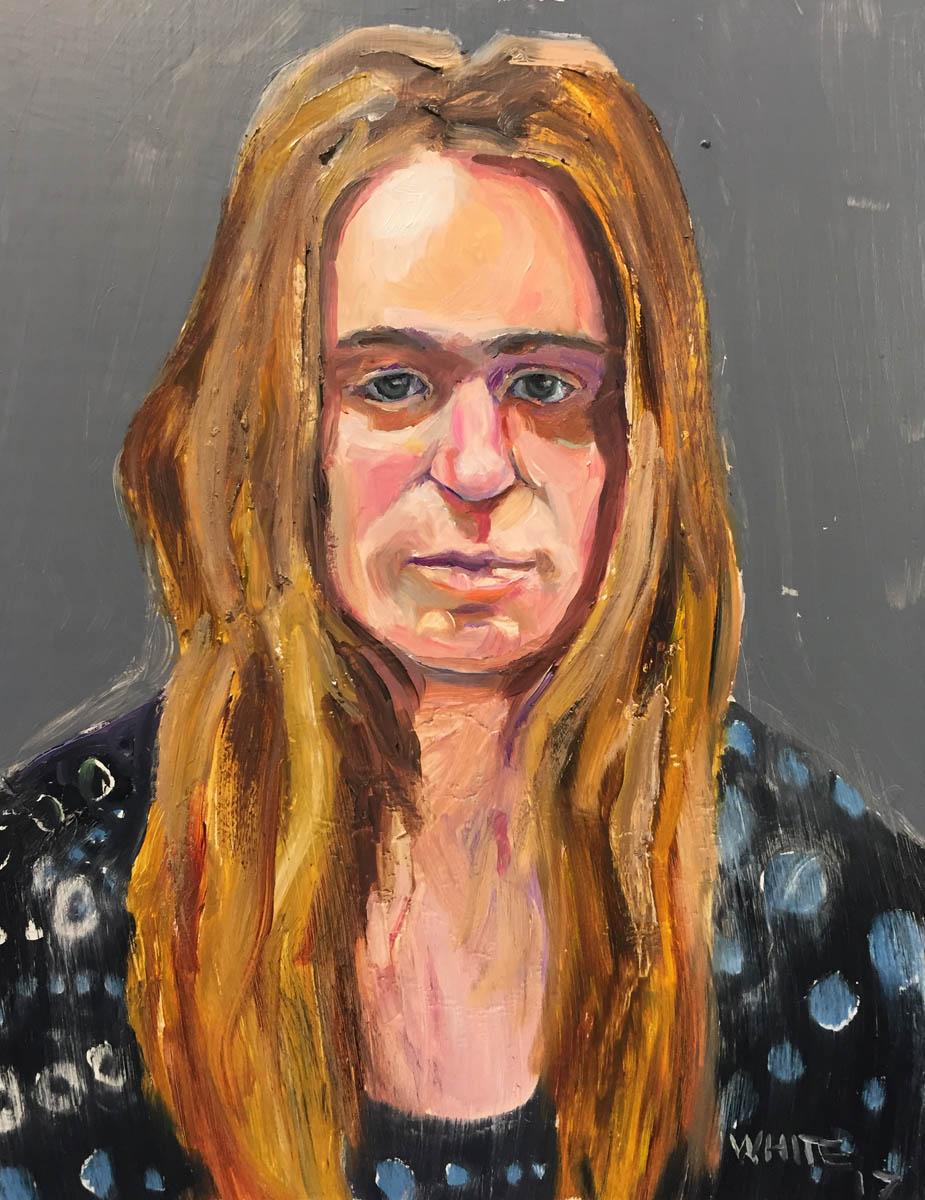 Reed White painting mugshot 011 : Cruel and Unusual Punishment