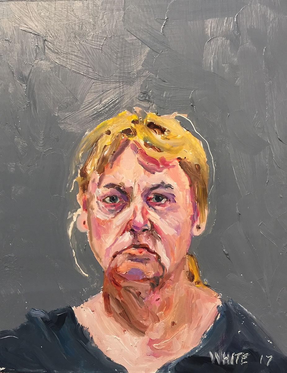 Reed White painting mugshot 014 : Cruel and Unusual Punishment