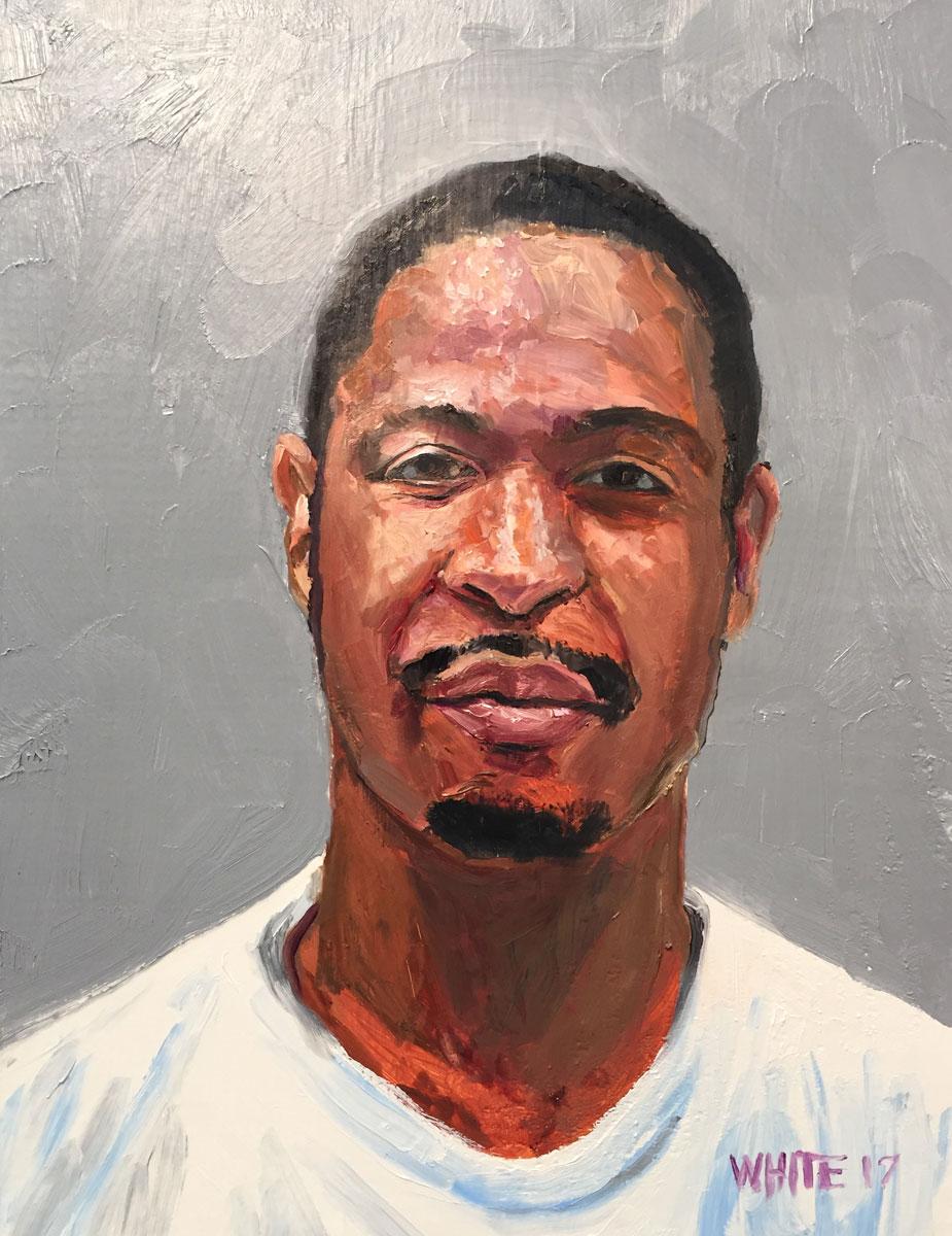 Reed White painting mugshot 016 : Cruel and Unusual Punishment