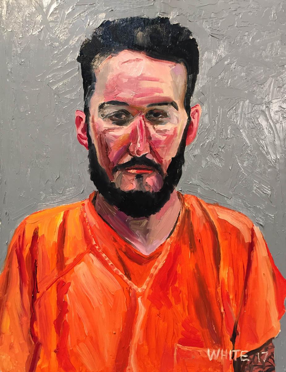 Reed White painting mugshot 018 : Cruel and Unusual Punishment