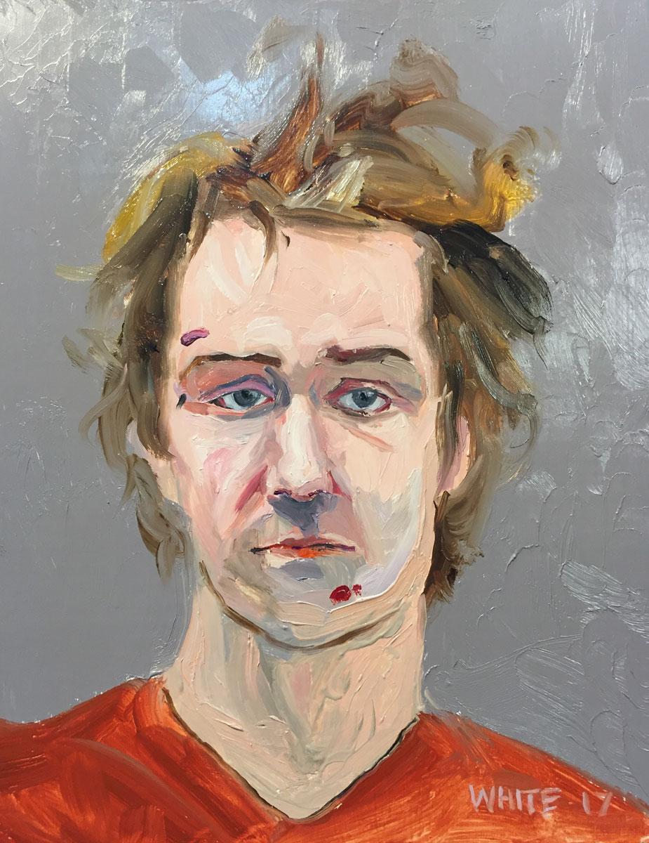 Reed White painting mugshot 019 : Cruel and Unusual Punishment